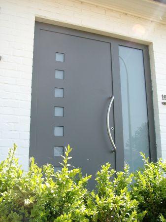 La porte d 39 entre for Couleur porte exterieure maison