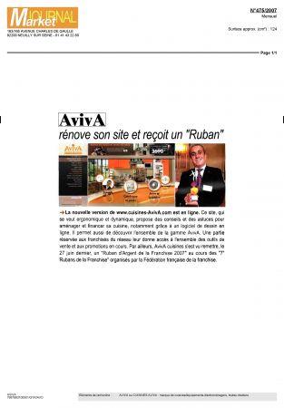 La nouvelle version de est en ligne for Avis sur cuisine aviva