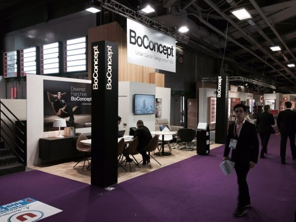 Pour sa seconde participation au salon franchise expo les for Le salon de la franchise