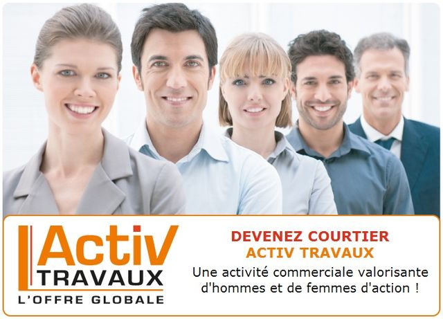 Franchise Activ Travaux courtiers en travaux