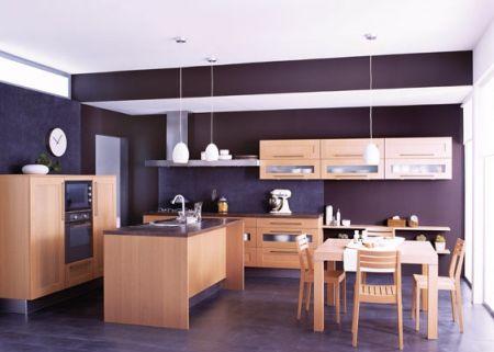 Avec cuisinella inspiration bois dans toute la maison for Quel peinture pour le bois
