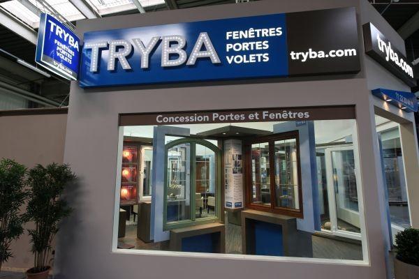 Dcouvrez le concept tryba franchise expo paris for Menuiserie stand exposition